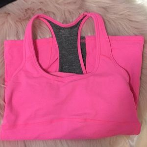 Champion hot pink work out tank